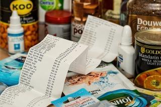 """scontrino del supermercato immagine rappresentativa del racconto """"Solitudine"""" scritto per Coop for Words"""