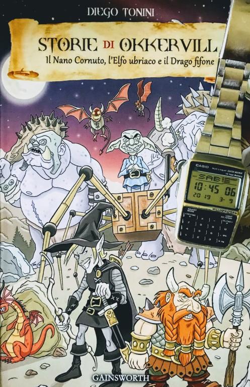 Copertina di Storie di Okkervill con orologio